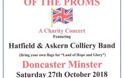 Proms Concert in The Minster, Doncaster
