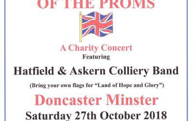 Proms Concert in The Minster, Doncaster