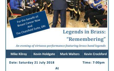 """Legends in Brass – """"Remembering"""""""